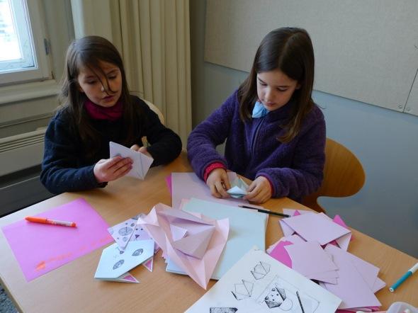 origami with myriam