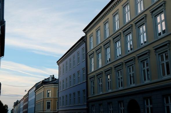 sky blue building